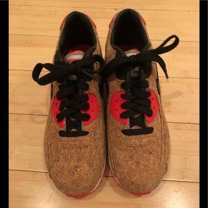 RARE/NEW Nike Air Max cork sneakers